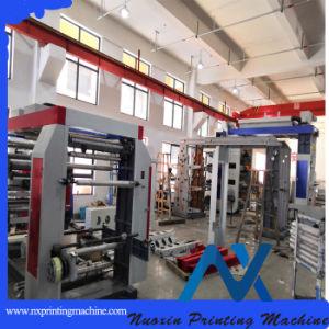 Nuoxin flexográfica en 6 colores/ maquinaria de impresión Flexo