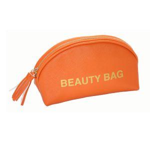 Heißer Verkaufs-Produkt-Qualitäts-Verfassungs-Pinsel-KastenPortable kein Firmenzeichen-Rückseite PU-kosmetischer Verfassungs-Beutel mit Eigenmarke