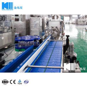 Llenado de embotellado de agua tipo lineal de la máquina de sellado