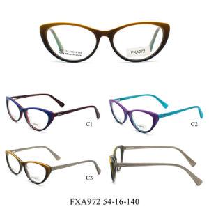 2017 het Recentste Optische Optische Frame van de Frames van het Oogglas voor Vrouw (FXA972)