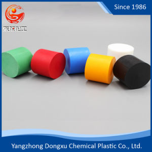 De PTFE Non-Adhesiveness/F4 de color negro de la Vara, lleno de varilla de grafito PTFE