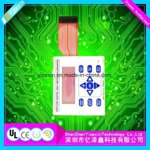 OEM와 ODM 돔에 의하여 돋을새김되는 촉감 키를 가진 산업 막 키패드