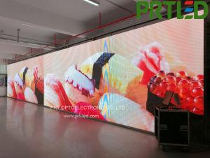500*1000 мм изогнутая светодиодный дисплей с задней панели видео плеер для ЖК-P4.81 P5.95 P6.25
