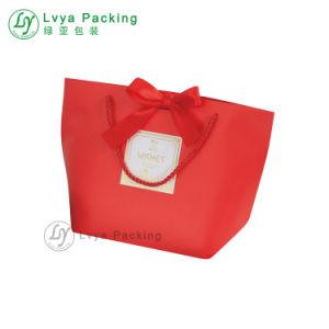 Papel laminado personalizado Compras reutilizable Bolsa de tela con Logo
