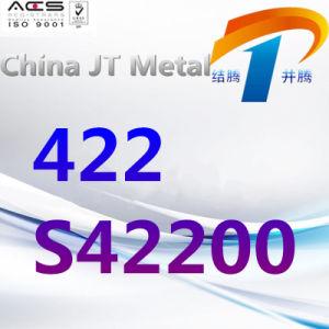 De Staaf van de Pijp van de Plaat van het Roestvrij staal AISI 422 422 S42200, de Leverancier van China