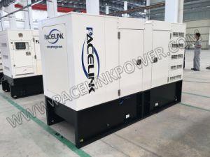 130kVA 경제 세륨 ISO를 가진 Cummis에 의하여 강화되는 방음 디젤 엔진 발전기 세트