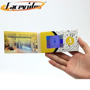 Directe du fabricant de l'écran LCD 2,4 pouces de la vidéo numérique de la carte d'entreprise Brochure Visite de la société de carte de voeux
