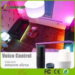 Iluminação Doméstica Inteligente Lohas E12/E14 5W WiFi lâmpada LED inteligente funciona com o Google Home/Alexa