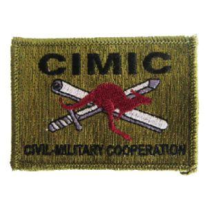 卸し売りカスタム警官の使用(001)のためのバッジによって編まれるパッチ