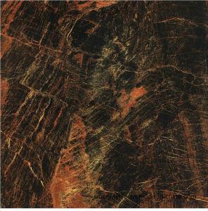 De donkere Kleur Verglaasde Porselein Opgepoetste Begrenzende Tegel van de Muur van de Vloer