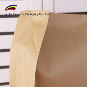 Kraft Zipper bolsas grandes de 20 kg