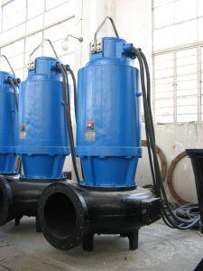 Eaux usées submersible pompe verticale