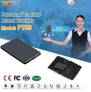Персональный GPS Tracker Asset Tracker системы охранной сигнализации с кнопку парового удара, маленький (PT99-LE)