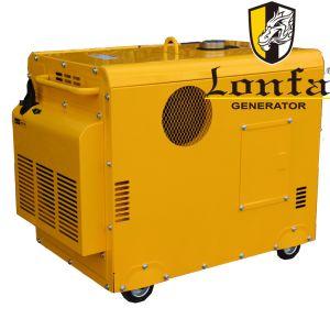 5kVA 6kVA 7kVA 8kVA insonorizado silencioso generador de gasolina eléctrica