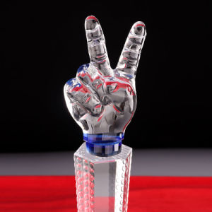 Gota de agua y cristal con forma de lágrima premios y trofeos