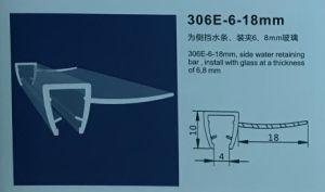306e-6-18mm Belüftung-Badezimmer-Dusche-Gehäuse Belüftung-Magnetdichtungs-Streifen