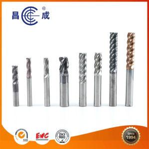 Het Met een laag bedekte Stevige Carbide van China Fabrikant, de Molen van het Eind HSS voor CNC Proces