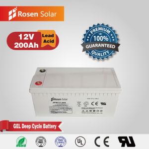Rosen de gel de ciclo profundo 12V 200Ah batería solar