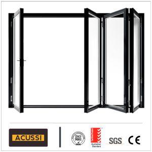 Insonorisées Porte coulissante escamotable lourd en aluminium pour Villa House Hotel Projet de construction avec l'Australie comme2047 standard