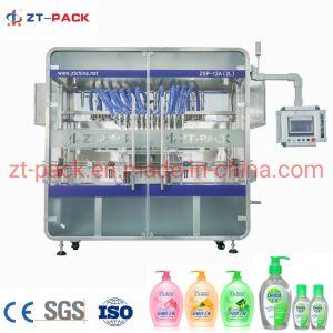 Higienizador mão sabão líquido antibacteriano detergente de lavar louça xampu condicionador de cabelo máquina de enchimento de garrafas de enchimento da máquina de embalagem