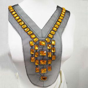 Glanzen de Met de hand gemaakte Parels van de halslijn, AcrylHalsband