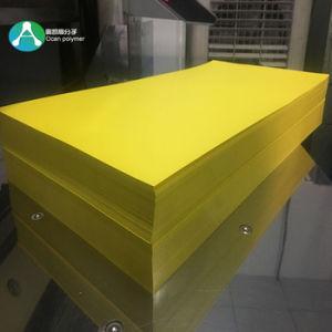 印刷札のための多彩で不透明で黄色く堅いPVCシート