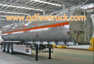 トレーラー45000リットルの大型トラックのトレーラーのアルミ合金5083の燃料のタンカーの