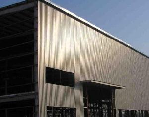 Steel chiaro Steel Structure per Car Parking