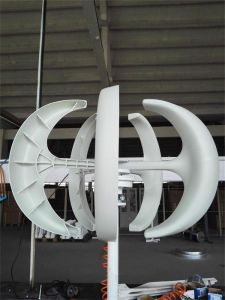 300W 12V/24V Miniqualitäts-Wind-Energien-Generator/vertikale Mittellinien-Wind-Turbine