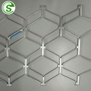 5800 x 1200mm décoratifs en aluminium noir & blanc Amplimesh Diamond Grill