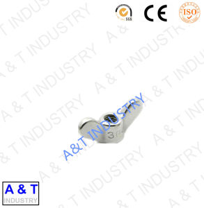 Ecrou-papillon galvanisé d'acier du carbone de vente chaude avec le boulon d'oeil