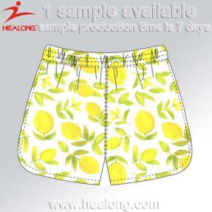 Healong Fresh Design la plage de Sublimation de vêtements hommes Shorts
