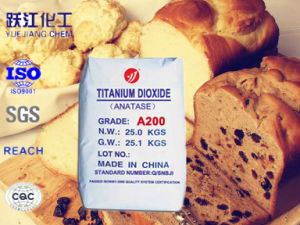 Het Dioxyde van het Titanium van de Rang van het voedsel A200 voor Geneeskunde