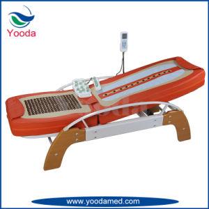 Base registrabile posteriore di massaggio della giada con il Tourmaline