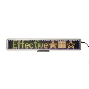 Черно-белый 16X128 SMD 8 символов длины при перемещении сообщения светодиодный дисплей системной платы для настольных ПК