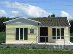 L'Angola économique Structure légère en acier préfabriqué modulaire House (KXD-pH30)