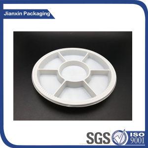 La vaisselle jetable plaque en plastique pour l'alimentation