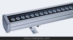 15W LED de luz LED de luz LED bañador de pared