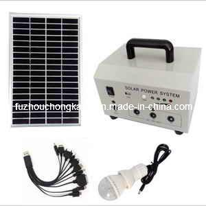 Portable 20W Solar Generation Stes, Panneau Solaire système (FC-D20)