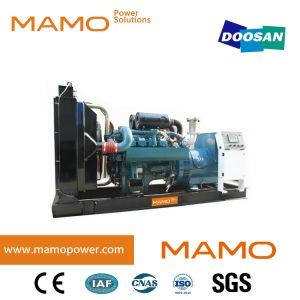 Откройте/Silent Doosan двигатель 300 квт 375ква премьер-330квт 413ква резервная мощность Электроподогревателя генераторах генераторная установка