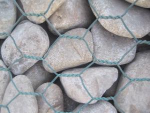 Agujero hexagonal Alambre Galvanizado en caliente Gabion Box Gabion colchón y para la regulación del río