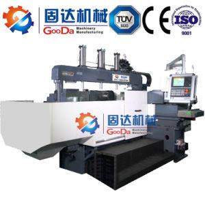 Usinagem Double-Spindle com sistema Fanuc CNC de Dupla fresadora -Dois Lados de moagem Duplex CNC fresadora CNC de camas de cabeça fresadora