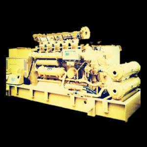 イギリスへの中国のセリウムのISO標準500kwの天燃ガスの発電機セットのエクスポート