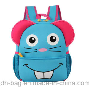 Les formes animales Kids sac à dos de l'école en néoprène pour les enfants