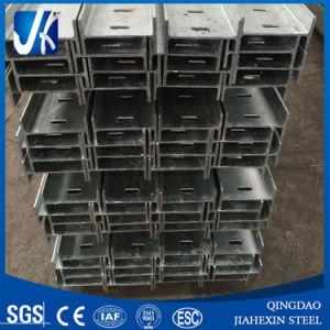 En otras partes de la estructura de acero con acabado galvanizado perfil H