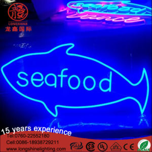 Indicatore luminoso al neon di motivo di prezzi di commerci all'ingrosso LED per il ristorante