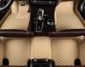 5D/3D 벤즈 E250/E350/Gla250/S500/S500L/G63/S63/C 종류에 의하여 남겨두는 /Right 손 운전사 차를 위한 충분히 포위된 방수 XPE 가죽 차 매트