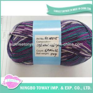 Lado Tapetes de tricotar meias Worsted Fios de lã acrílica