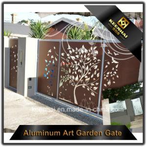 Cancello di alluminio esagerato della rete fissa