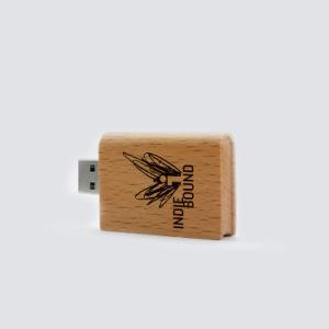 方法昇進のギフト本の形の木USBのフラッシュディスク16GB